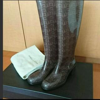 トゥモローランド(TOMORROWLAND)の美品☆ PELLICO レインブーツ 36(レインブーツ/長靴)