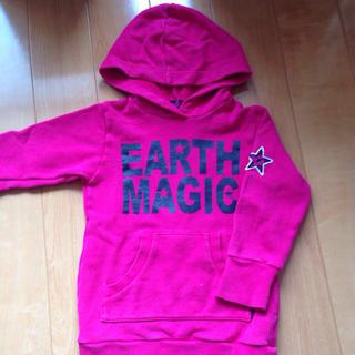 アースマジック(EARTHMAGIC)のEARTH MAGIC♡パーカーワンピ(ミニワンピース)