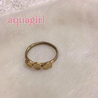 アクアガール(aquagirl)の送料込み♡アクアガールリング♡(リング(指輪))