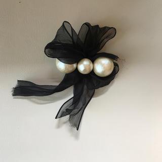 4dbcfb9bfc90ac プティローブノアー(petite robe noire)のプティローブノアー パールコサージュ(ブローチ