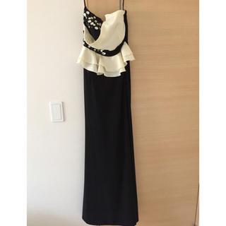 デイジーストア(dazzy store)のブラックイエローロングドレス(ナイトドレス)