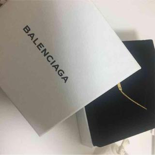 バレンシアガ(Balenciaga)のバレンシアガ メタルプレートペンダント(ネックレス)