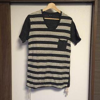 アバハウス(ABAHOUSE)の【アバハウス】ボーダーTシャツ M(Tシャツ/カットソー(半袖/袖なし))