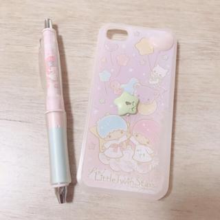 サンリオ(サンリオ)のキキララiPhone5.5sケース&マイメロボールペン(モバイルケース/カバー)