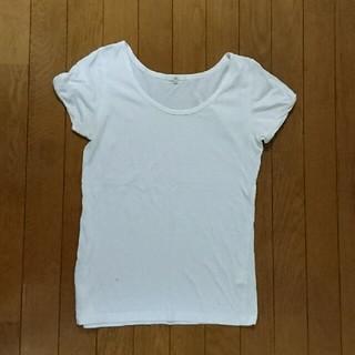シップスフォーウィメン(SHIPS for women)のSHIPS 白Tシャツ(Tシャツ(半袖/袖なし))