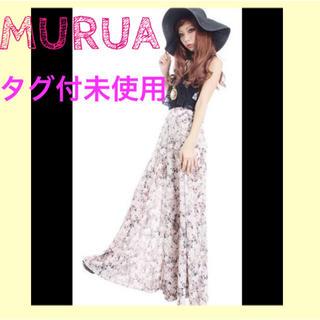 ムルーア(MURUA)の¥9975🎀値下げ🎀オリジナル花柄シフォンスカンツ(その他)