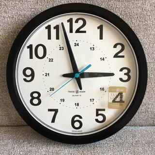 イデー(IDEE)の★saaさま専用★【新品】*unico*ウォールクロック 壁時計 ブラック(黒)(掛時計/柱時計)
