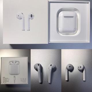 アップル(Apple)のApple MMEF2J/A AirPods エアポッド(ヘッドフォン/イヤフォン)