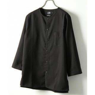ハレ(HARE)のハレ ノーカラーカットソー 七分袖 トレンド(Tシャツ/カットソー(七分/長袖))