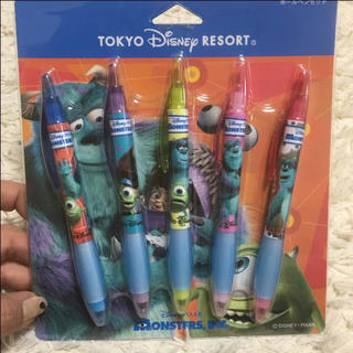 ディズニー(Disney)のディズニー ボールペンセット⭐︎新品未使用⭐︎(キャラクターグッズ)