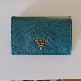 プラダ(PRADA)のPRADA カードケース新品同様(財布)