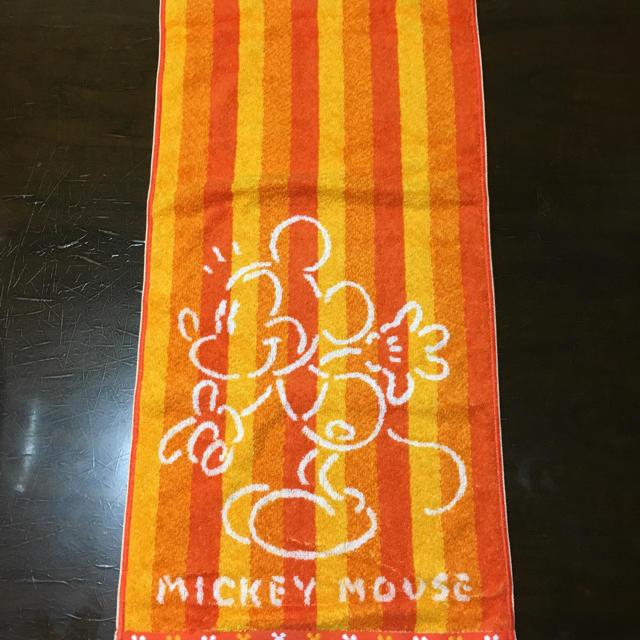 ディズニー  ミッキーマウス  タオル インテリア/住まい/日用品の日用品/生活雑貨/旅行(タオル/バス用品)の商品写真
