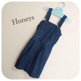 ハニーズ(HONEYS)のHoneys:デニムジャンスカ(ひざ丈ワンピース)