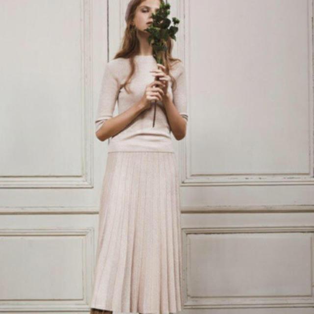 snidel(スナイデル)のsnidel ラメプリーツスカート レディースのスカート(ひざ丈スカート)の商品写真