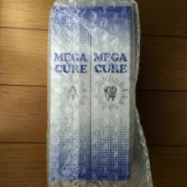 【新品未開封】メガキュア80g×2本セット コスメ/美容のオーラルケア(歯磨き粉)の商品写真