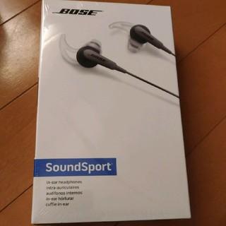 ボーズ(BOSE)の【国内正規品】Bose SoundSport in-ear イヤホン(ヘッドフォン/イヤフォン)
