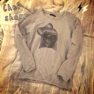 シェル(Cher)のCher shore♡スカルスエット(トレーナー/スウェット)