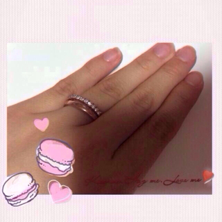 再出品  指輪 ピンクゴールド 11号(リング(指輪))