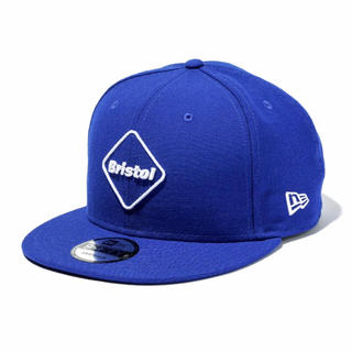 エフシーアールビー(F.C.R.B.)のFCRB x NEWERA 9FIFTY SNAP BACK ブルー(キャップ)