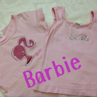 バービー(Barbie)の格安!バービー120サイズ2枚セット♫(その他)