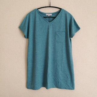 シマムラ(しまむら)のVネック ロングTシャツ(Tシャツ(半袖/袖なし))
