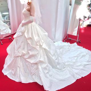 バービー(Barbie)のウエディングドレス ブライダル wedding 結婚式 ブランド 7から9号(ウェディングドレス)