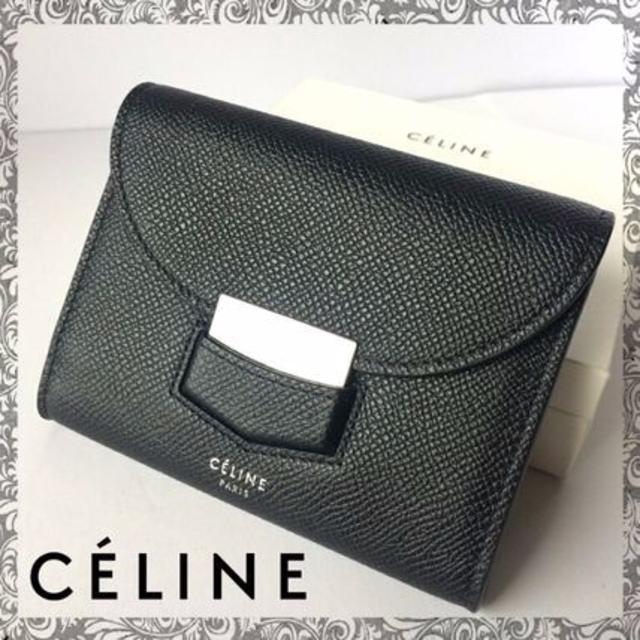 new product 6ffb5 0fe2c Celine セリーヌ トロッター ミニ 財布 新品 | フリマアプリ ラクマ