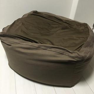 ムジルシリョウヒン(MUJI (無印良品))の無印良品 ビーズクッション カバー ニトリ 本体(ビーズソファ/クッションソファ)