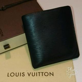 ルイヴィトン(LOUIS VUITTON)の人気 財布 ルイヴィトン エピ 二つ折り 札入れ(折り財布)