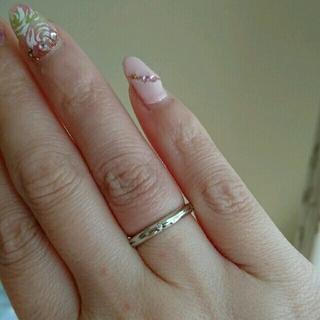 ティファニー(Tiffany & Co.)の大幅お値下げ!ティファニー☆K18 ストリー メリカ ナローリング(リング(指輪))