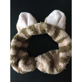 フェリシモ(FELISSIMO)の猫耳もふもふヘアターバン(ヘアバンド)