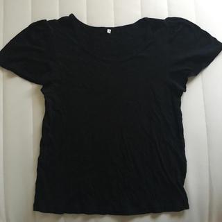 ムジルシリョウヒン(MUJI (無印良品))の無印☆ギャザースリーブTシャツ(Tシャツ(半袖/袖なし))