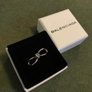 バレンシアガ(Balenciaga)のBALENCIAGA バレンシアガ リボンリング 指輪(リング(指輪))