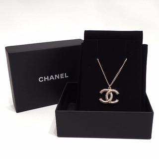 シャネル(CHANEL)のA67 美品 CHANEL シャネル ココマーク ネックレス ヴィンテージ(ネックレス)