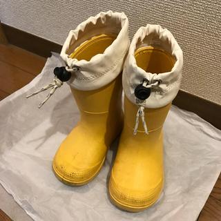 ムジルシリョウヒン(MUJI (無印良品))の無印良品☆長靴15〜16cm(長靴/レインシューズ)