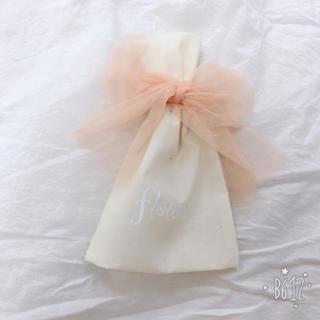 フラワー(flower)のflower  チュールリボン 巾着(ポーチ)