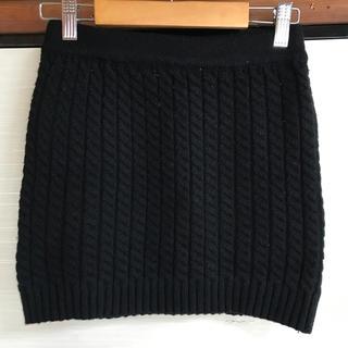 アンズ(ANZU)のANZU ニットスカート(ミニスカート)