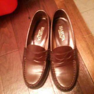 ハルタ ローファー 茶色(ローファー/革靴)