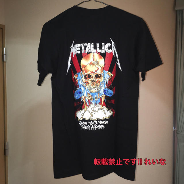 2016aw新作!! METALLICA メタリカ ロックTシャツ ブラック!! メンズのトップス(Tシャツ/カットソー(半袖/袖なし))の商品写真