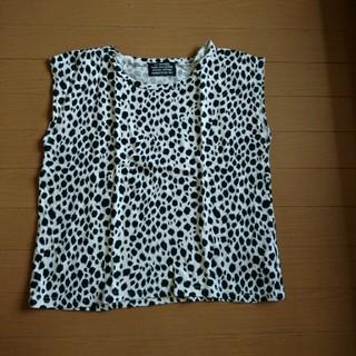 スライ(SLY)のSLY レオパード柄 ノースリ (Tシャツ(半袖/袖なし))