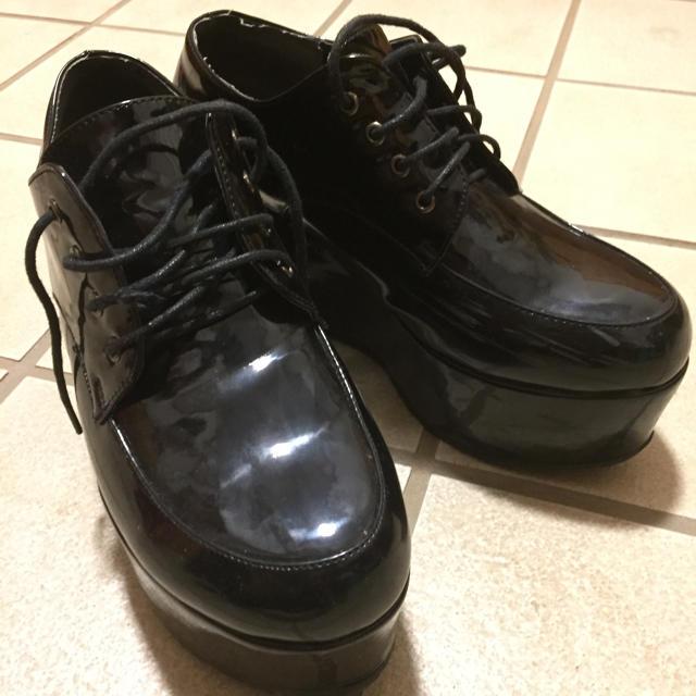 WEGO(ウィゴー)のエナメル厚底靴 レディースの靴/シューズ(その他)