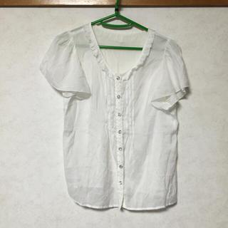 シークレットマジック(Secret Magic)のシークレットマジック フリル袖シャツ(シャツ/ブラウス(半袖/袖なし))