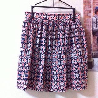 レイカズン(RayCassin)のマルチカラースカート(ミニスカート)