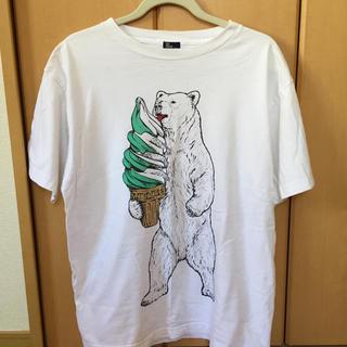 go slow caravan 熊Tシャツ(Tシャツ/カットソー(半袖/袖なし))