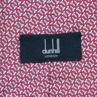ダンヒル(Dunhill)のdunhill ネクタイ 赤(ネクタイ)