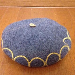 オーバーライド(override)のオーバライド ベレー帽(ハンチング/ベレー帽)