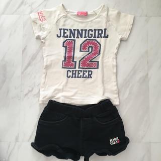 ジェニィ(JENNI)のjenni上下セット*110*(Tシャツ/カットソー)