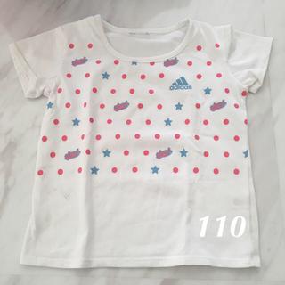 アディダス(adidas)のアディダスTシャツ*110くらい*(Tシャツ/カットソー)