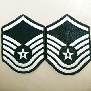 US.Air Force ワッペン 2枚(襟章)