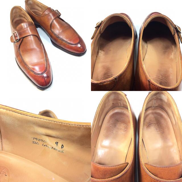 Crockett&Jones(クロケットアンドジョーンズ)のクロケットアンドジョーンズ ハンドグレード モンク 27.5cm メンズの靴/シューズ(ドレス/ビジネス)の商品写真